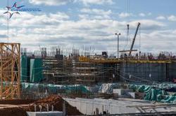 """Будущий терминал аэропорта """"Симферополь"""": 126 уникальных колонн, 6 тыс. стеклопакетов и 65 тыс """"кубов"""" бетона"""