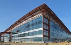 Строительство нового терминала красноярского аэропорта идет с опережением графика
