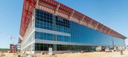 В новом терминале аэропорта Емельяново начался монтаж багажного оборудования