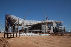 В новом терминале аэропорта Симферополь будет вдвое больше стоек для регистрации, чем в старых зданиях