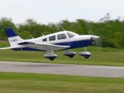 Piper Cherokee разбился в США