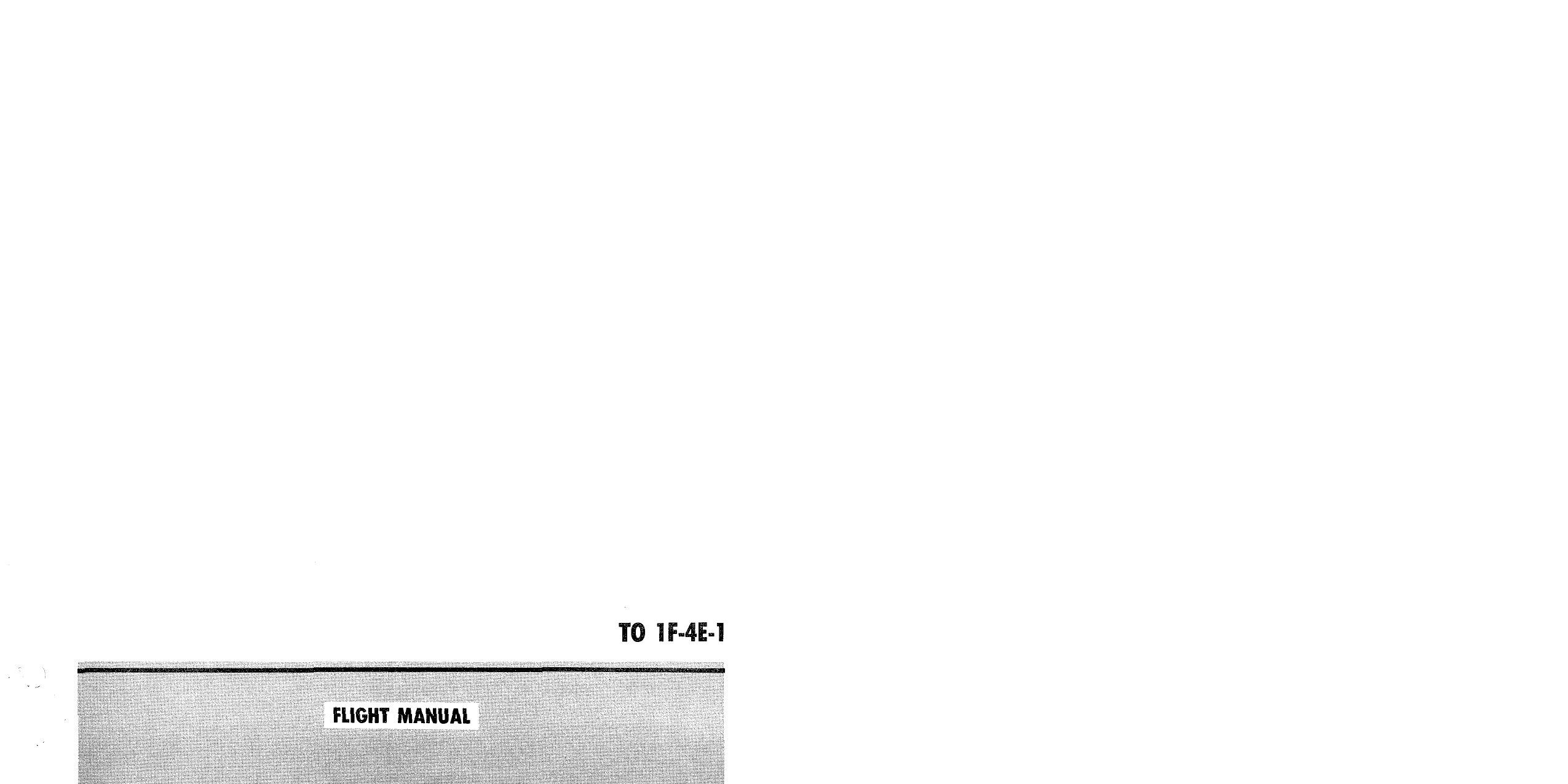 Обложка книги Flight Manual USAF Series F-4E Aircraft (Коллектив авторов)