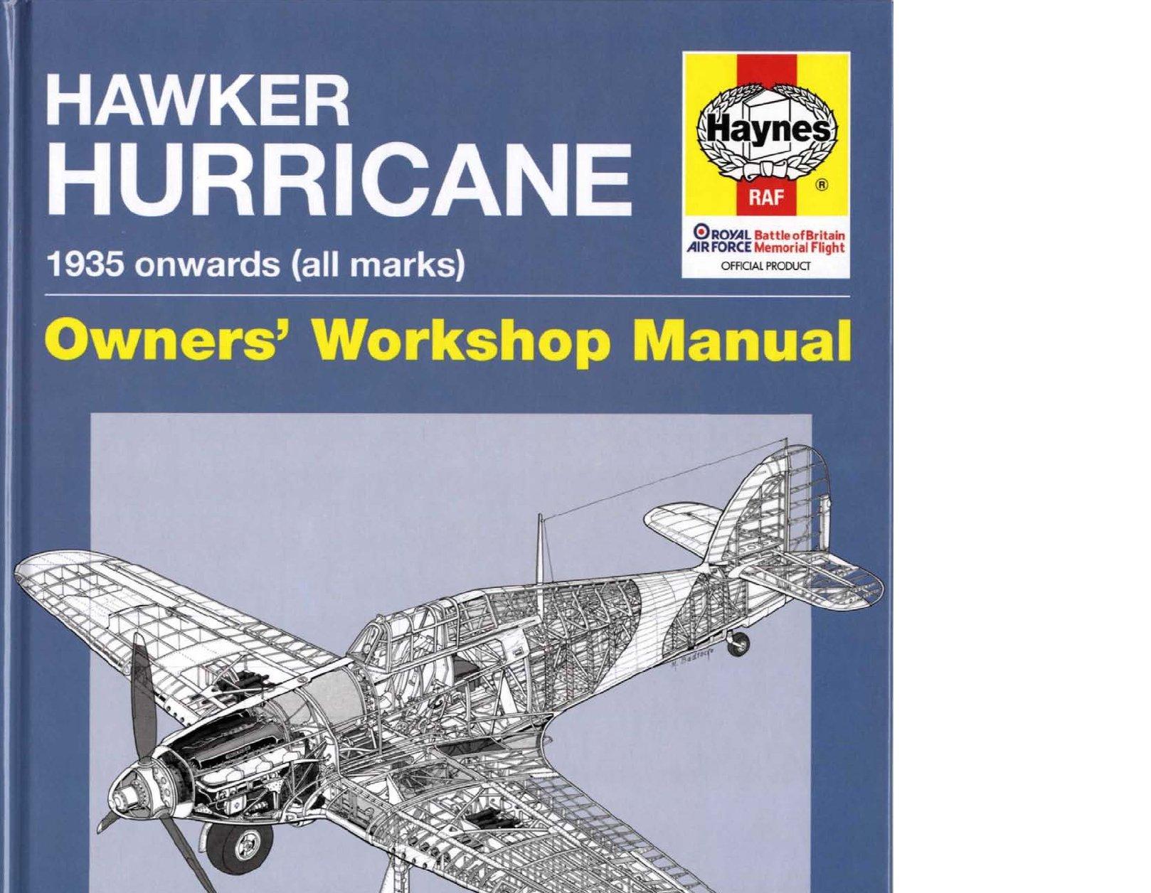 Hawker Hurricane 1935 onwards (all marks) / Хоукер Харрикейн 1935 года