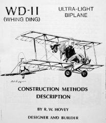 Обложка книги Чертежи и руководства. Whing Ding WD-II (Hovey R.W.)