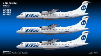 ЮТэйр (UTair Aviation)