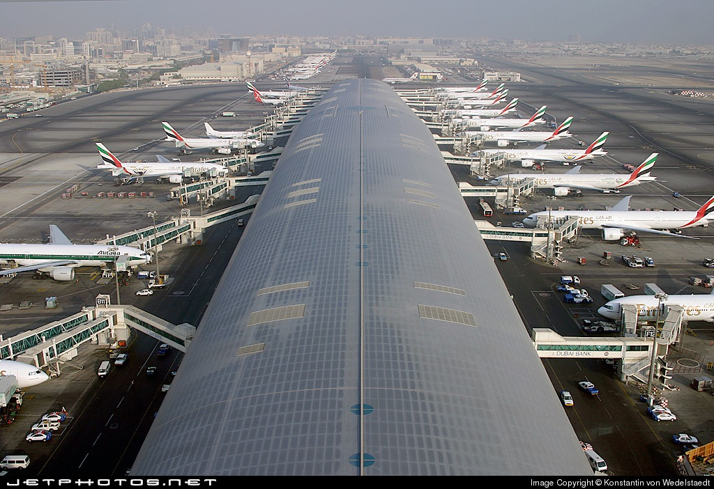 Аэропорт Dubai International Airport (Дубай)