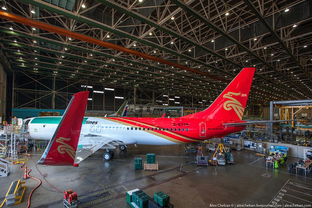 Как делают самолеты боинг Boeing 737