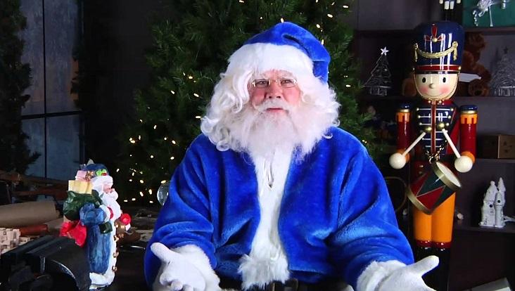 Авиакомпания WestJet и Санта Клаус приятно удивили своих пассажиров
