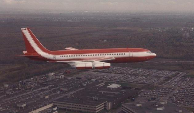 Прощание с Boeing 720