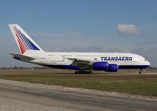 Перевод: Приготовтесь быть «втиснутыми»! Трансаэро Вас упакует в А380!