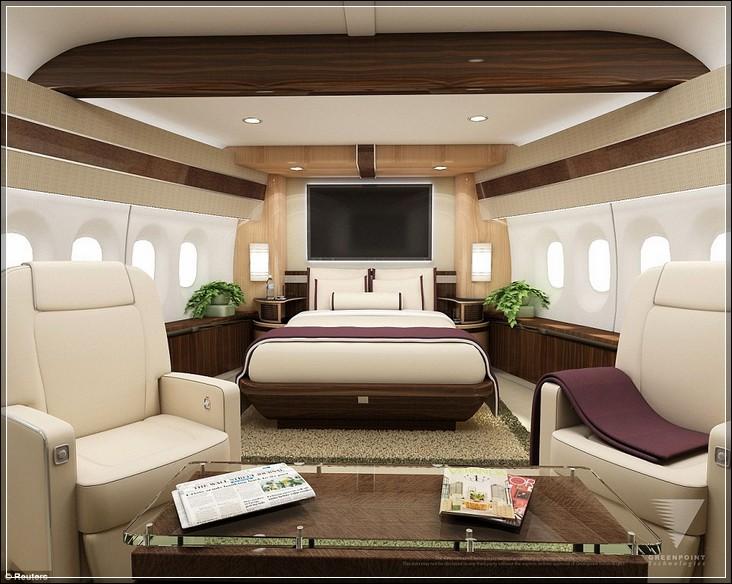 Засыпать в 747-8 никогда не было так легко