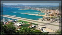 Странный аэропорт Гибралтар!