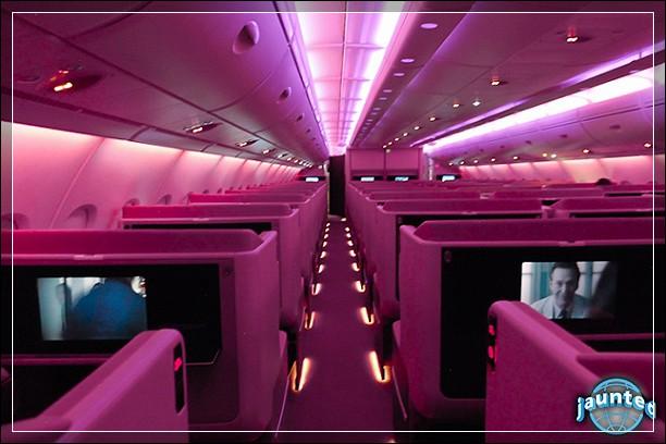 Неужели вы думаете, что Virgin America это единственная авиакомпания с розово-фиолетовым настроением?